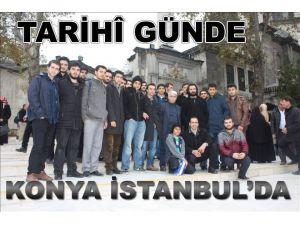Tarihî Günde Konya İstanbul´daydı