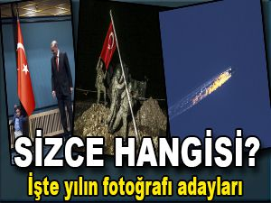Yılın fotoğrafı adayları