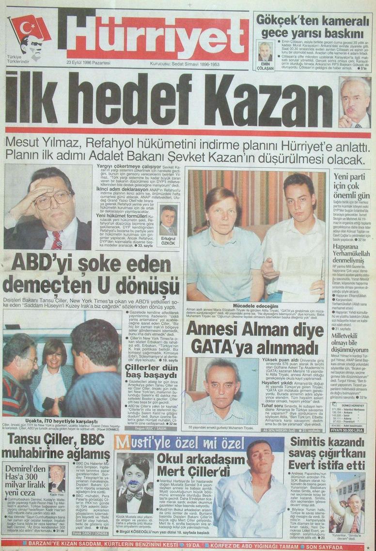 İşte 28 Şubat'ın manşetleri galerisi resim 1