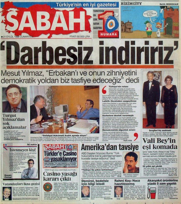 İşte 28 Şubat'ın manşetleri galerisi resim 15