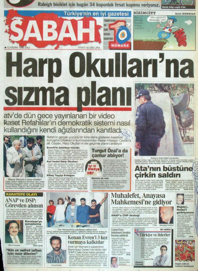 İşte 28 Şubat'ın manşetleri galerisi resim 18