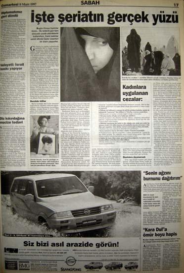 İşte 28 Şubat'ın manşetleri galerisi resim 26