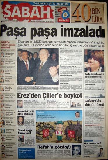 İşte 28 Şubat'ın manşetleri galerisi resim 28
