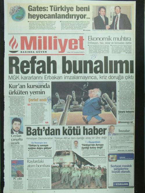 İşte 28 Şubat'ın manşetleri galerisi resim 4