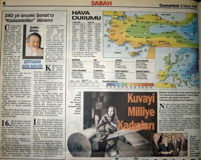 İşte 28 Şubat'ın manşetleri galerisi resim 48