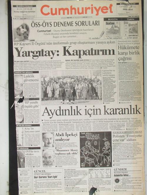 İşte 28 Şubat'ın manşetleri galerisi resim 7