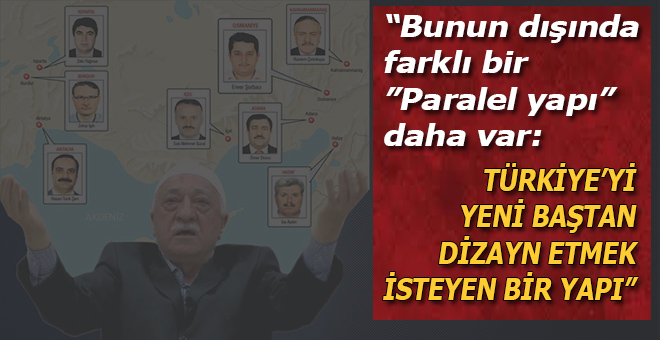 Türkiye'yi yeni baştan dizayn etmek isteyen bir yapı.
