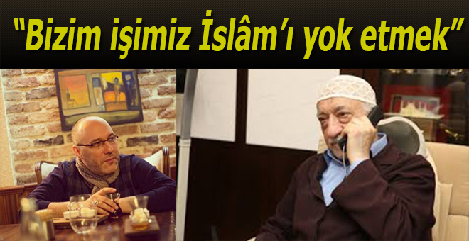 """""""Bizim işimiz İslâm'ı yok etmek.."""""""