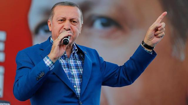 Cumhurbaşkanı Erdoğan; Onlar kaçacak biz kovalayacağız!