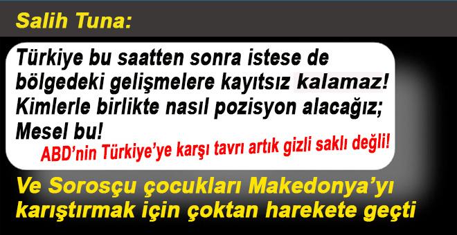 Türkiye bu saatten sonra istese de bölgedeki gelişmelere kayıtsız kalamaz.