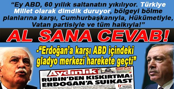 Perinçek, Erdoğan düşmanı ABD'li Neo-Con Rubin'e cevab verdi!