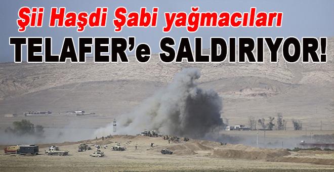 Şii Haşdi Şabi yağmacıları Türkmen kenti Telafer'e saldırıyor!
