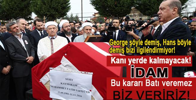 """Cumhurbaşkanı Erdoğan; """"Bu kararı Batı veremez, biz veririz!"""""""
