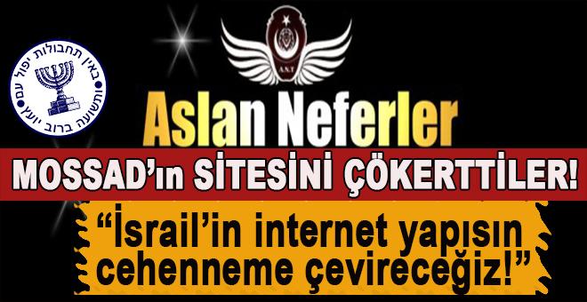 Türk hacker grubu Aslan Neferler Mossad'ın internet sitesini çökertti