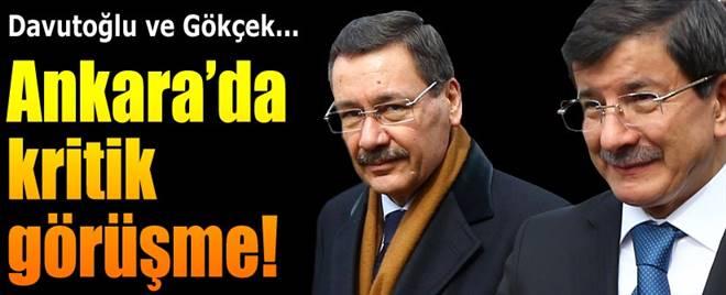 Başbakan Davuoğlu Melih Gökçek`i kabul etti