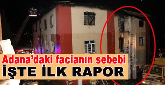 İşte yangın faciasının sebebi; İlk rapor!