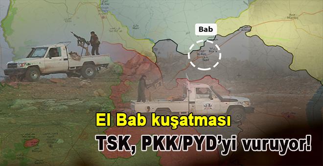El-Bab kuşatması sürüyor!