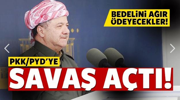 Barzani'den sert tepki: Bedelini ödeyecekler