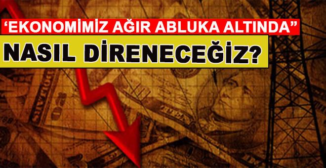 """Salih Tuna: """"Ekonomimiz, ağır abluka altında. Nasıl direneceğiz?"""""""