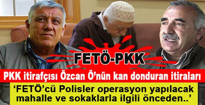 PKK itiraçısından kan donduran; FETÖ-PKK işbirliği itirafı!