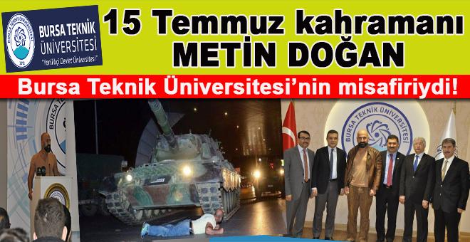 15 Temmuz kahramanı Metin Doğan; Ben buraya ölmeye geldim!