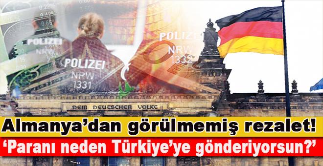 """Alman polisi TL'ye karşı devrede; """"Paranı neden Türkiye'ye gönderiyorsun?"""""""
