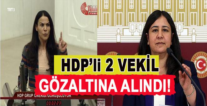 HDP'li 2 Milletvekili Ankara'da gözaltına alındı