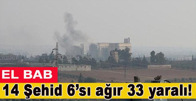 TSK; 10 Şehid, 6'sı ağır 33 yaralı!