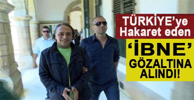 Türkiye'ye hakaret eden Barbaros Şansal isimli 'ibne' gözaltında!