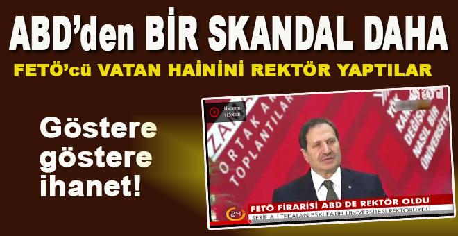 ABD'den Türkiye'ye bir hainlik daha; FETÖ firarisi Tekalan ABD'de rektör oldu