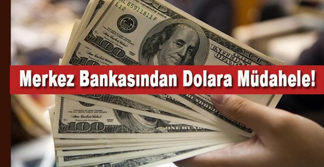 Merkez Bankası'ndan Dolar'a müdahale