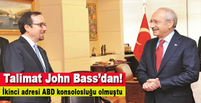 Talimatı John Bass verdi!