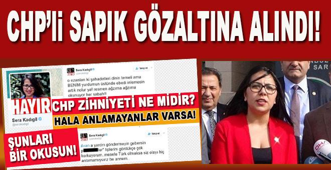 CHP yöneticisi sapık gözaltına alındı!
