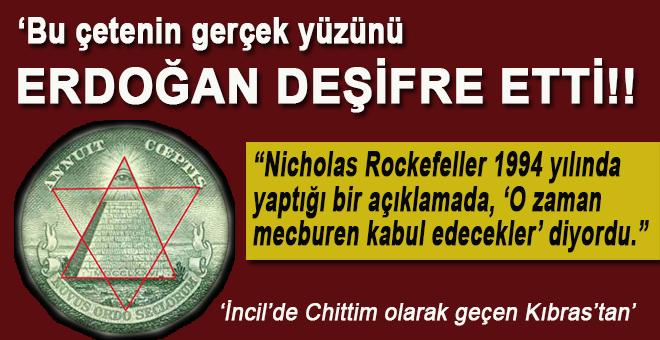 """""""Bu çetenin gerçek yüzünü Erdoğan deşifre etti!"""""""