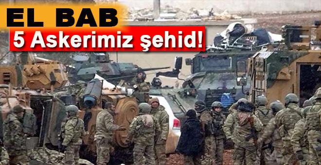 El Bab'da DEAŞ saldırısı: 5 Askerimiz şehid!