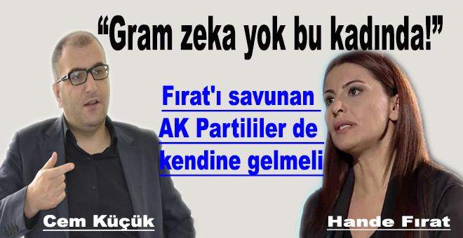 """Fırat'ı savunan AK Partililer de kendine gelmeli"""