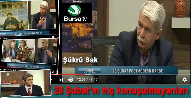 Şükrü Sak Bursa Tv'de Aykut Gül'ün konuğuydu!