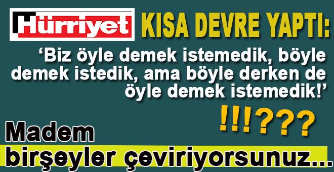 """Düşündük taşındık, haberimize """"Terbiyesizliktir, seviyesizliktir"""" diyen Cumhurbaşkanı Erdoğan'ın da"""