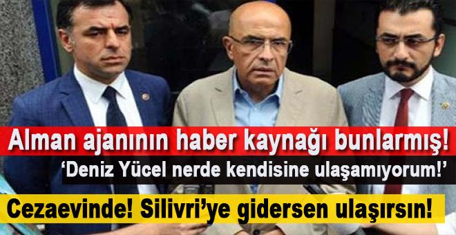 Alman ajanının PKK-FETÖ yanlısı haberlerinin kaynağı bunlarmış!