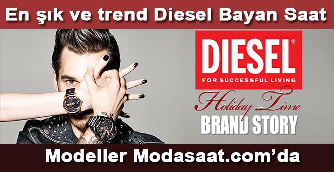 En şık ve en trend Diesel Bayan Saat Modelleri Modasaat.com'da