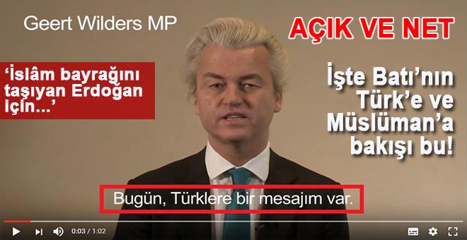 """Batı'nın gerçek yüzü bu; """"Daha fazla Türk ve İslâm istemiyoruz!"""""""