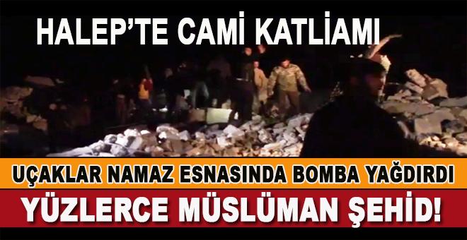 Halep'te Cami Katliamı-Ölü Sayısı Yüzlerle ifade ediliyor!
