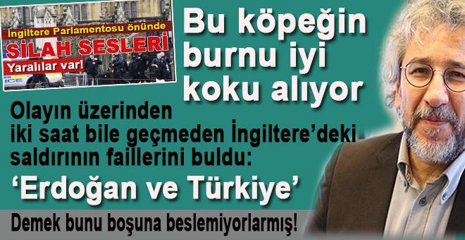 Olayın üzerinden iki saat bile geçmeden faili buldu; Erdoğan ve Türkiye!