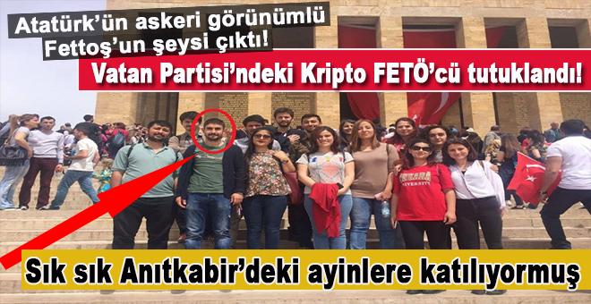 """""""Mustafa Kemal'in askeriyim"""" diyordu, kripto FETÖ'cü çıktı!"""