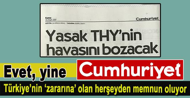 """Evet, yine Cumhuriyet; """"Vatan hainliğine devam ediyor hâlâ!"""""""