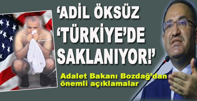 """Bekir Bozdağ: """"Türkiye'de saklanıyor!"""""""
