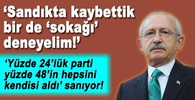 Kılıçdaroğlu, referandumu gayrı meşru,  sokağa çıkmayı hak sayacaklarını söyledi!
