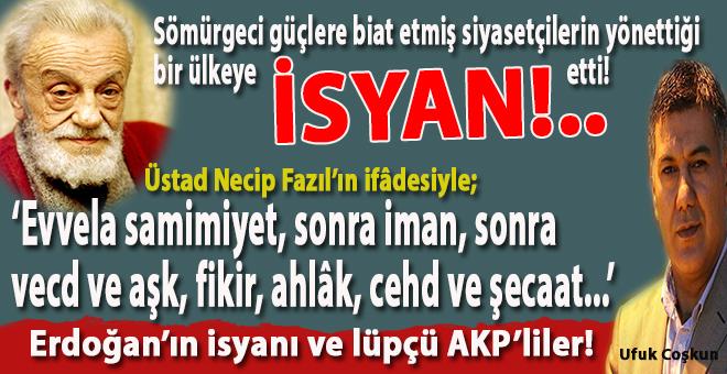 """Ufuk Coşkun: """"Omurgasız, çakma kahramanların devri artık kapanmıştır!"""""""