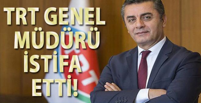 TRT Genel Müdürü Şenol Göka istifa etti
