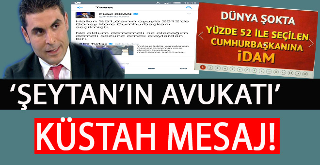 Yine başladılar; Erdoğan'a karşı küstah mesaj!